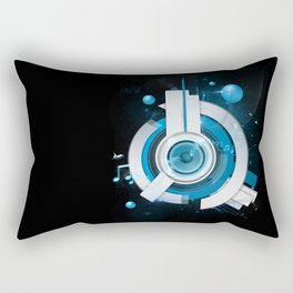 Music Beacon Rectangular Pillow