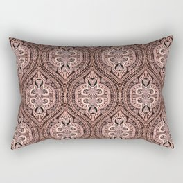Copper Tribal Lace Ogee Rectangular Pillow