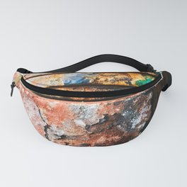 mixed metal race to cake Fanny Pack