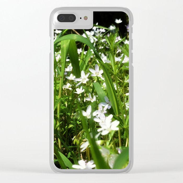 Spring Beauty 13 Clear iPhone Case