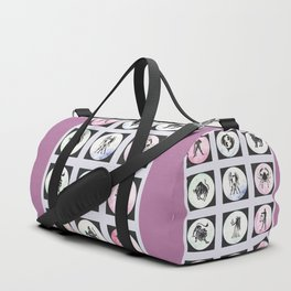 Twelve Zodiac Signs Duffle Bag