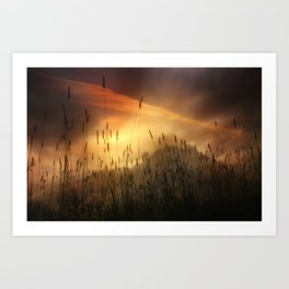 MOUNTAIN MAGIC Art Print