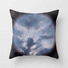 Sneak Peak of Heaven Throw Pillow
