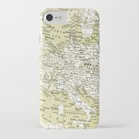 europe iPhone & iPod Cases featuring 1938 Europe by inourgardentoo