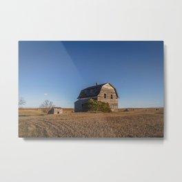 Barn House, Wells County, North Dakota 7 Metal Print