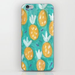 Fresh Pineapples iPhone Skin
