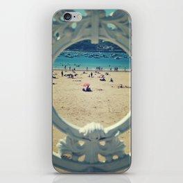 La Concha . Donosti beach iPhone Skin