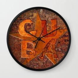 CUIN CUBA Wall Clock