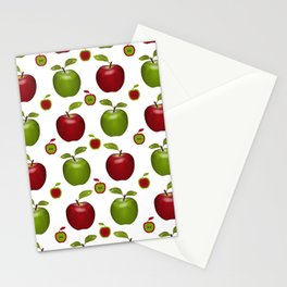 Apples Composition Stationery Cards
