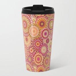 Mandala 157 (Floral) Travel Mug
