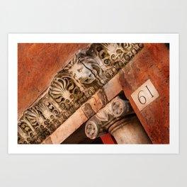 Ancient Adornments Art Print