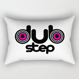 Dubstep Speakers Rave Quote Rectangular Pillow