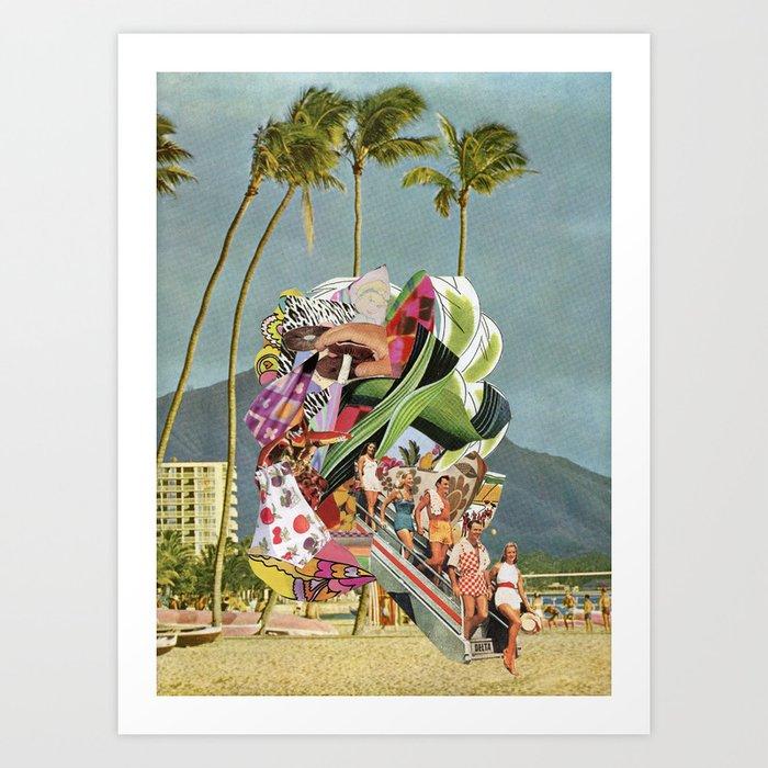 Beach Portal Art Print