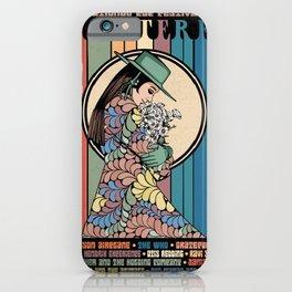 Monterey International Pop Festival Gig Poster 1967 iPhone Case