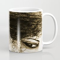 transparent Mugs featuring Transparent by Sofia Karlström