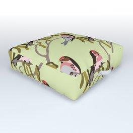 springtime Outdoor Floor Cushion