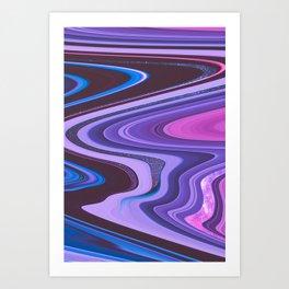 Candy Swirl Art Print