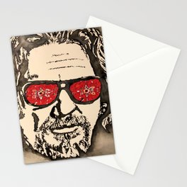 """""""The Dude Abides"""" featuring The Big Lebowski Stationery Cards"""