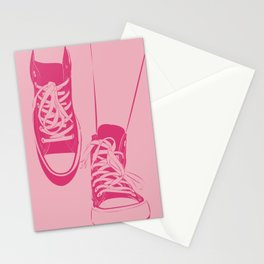 Chucks It Against the Wall  Stationery Cards