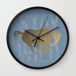 Horse (Stay Wild) Wall Clock