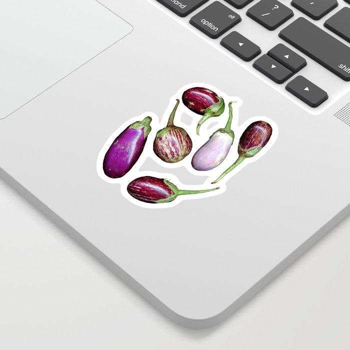 Aubergines Sticker