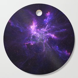 Coral Nebula Cutting Board