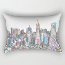 San Francisco Coit view Rectangular Pillow