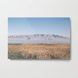 Utah Lake II Metal Print