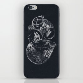 Macaque Diver iPhone Skin