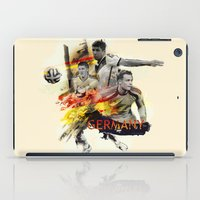 germany iPad Cases featuring Germany by Rose's Creation