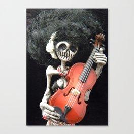 Day of the Dead: La Violinista Canvas Print