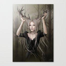 Orée du bois Canvas Print