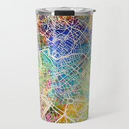 Rome Italy City Map Travel Mug