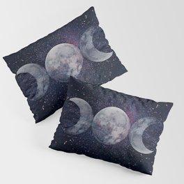 Shining Lunar Symbol Pillow Sham
