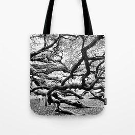 Grasp of the Ancient Oak Tote Bag