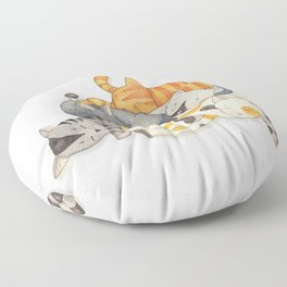 Cat Nap (Siesta Time) Floor Pillow