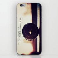 tool iPhone & iPod Skins featuring Photographer's Tool  by Jo Bekah Photography