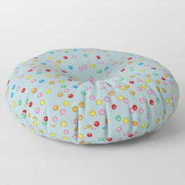 Unicorn Gumball Poop Floor Pillow