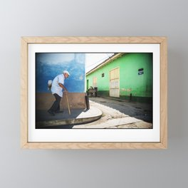 Streets of Trinidad Framed Mini Art Print