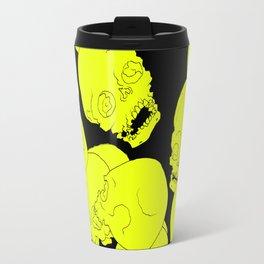 Neon Skulls Travel Mug