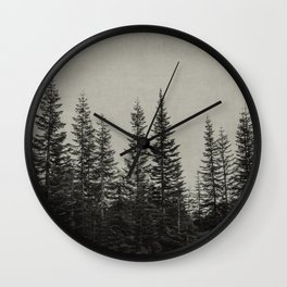 the edge of the forest Wall Clock