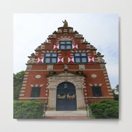 Zwaanendael Museum Metal Print