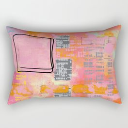 let the good times roll Rectangular Pillow