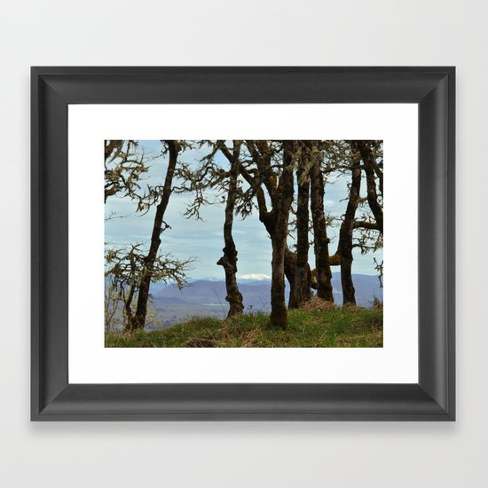From Mt. Pisgah Framed Art Print
