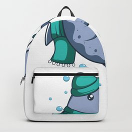 Chiller Whale Gift Backpack