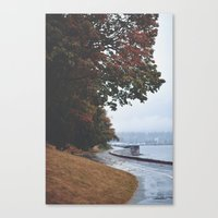 vancouver Canvas Prints featuring Vancouver by Tasha Marie
