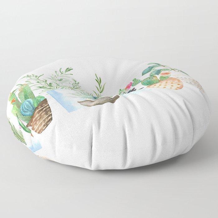 Plants Floor Pillow