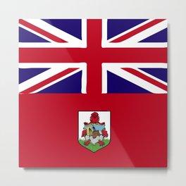 Bermuda flag emblem Metal Print