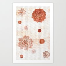 Pattern 2017 034 Art Print