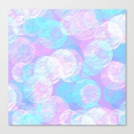Cosy Circles || 3 Canvas Print